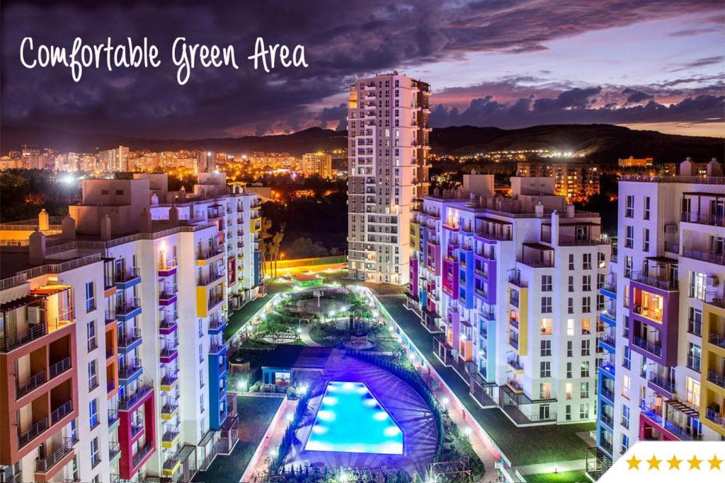 High Rise Flat In A Beautiful Area With Views Tbilisi City