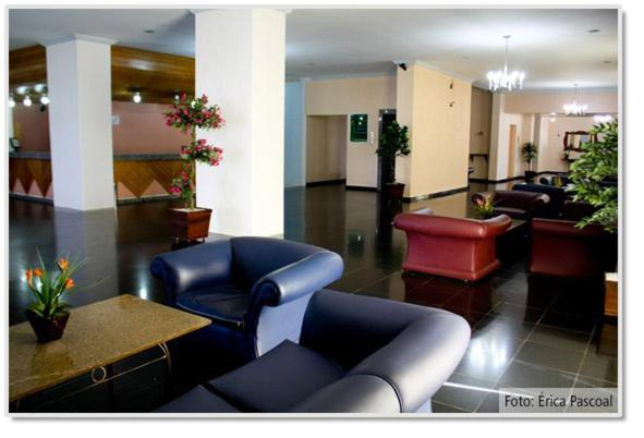 The lobby or reception area at Rondon Palace Hotel