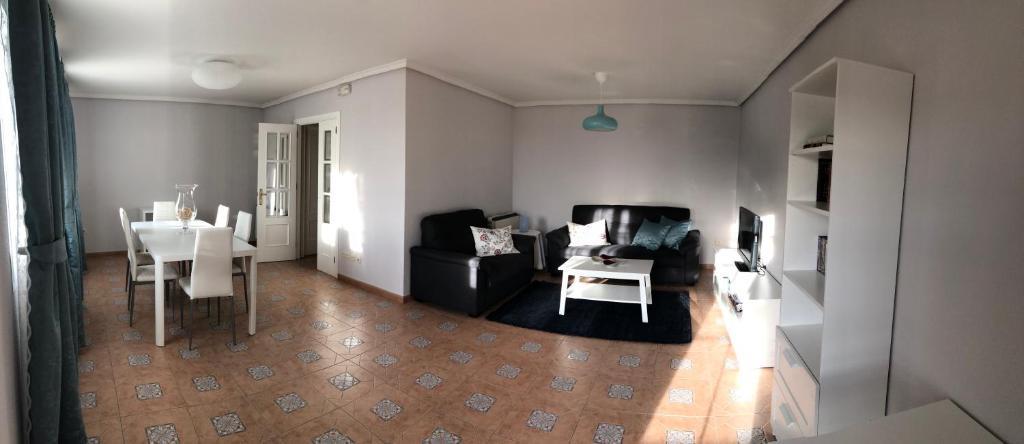 A seating area at CASA DOVELA