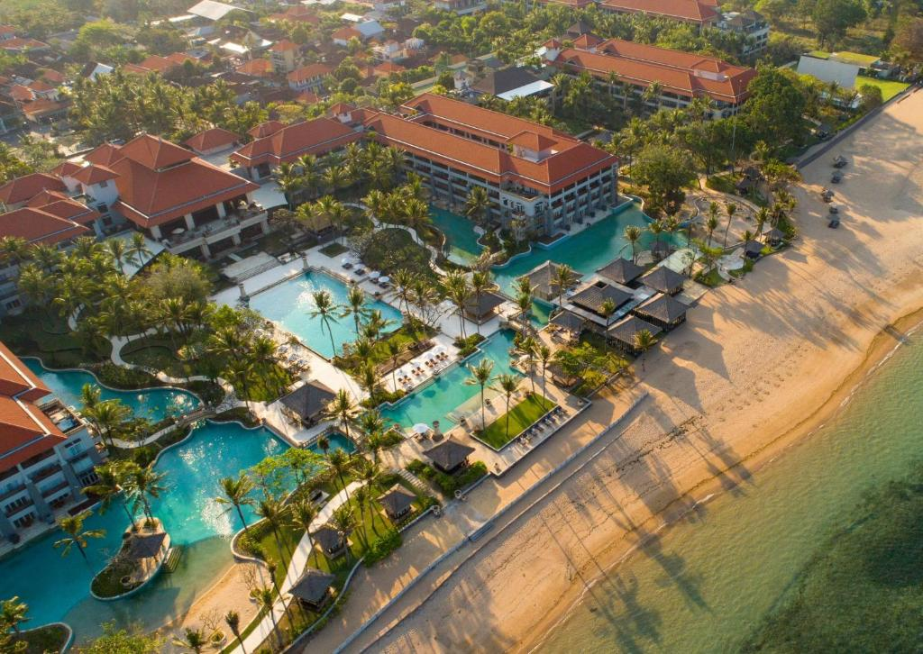 A bird's-eye view of Conrad Bali