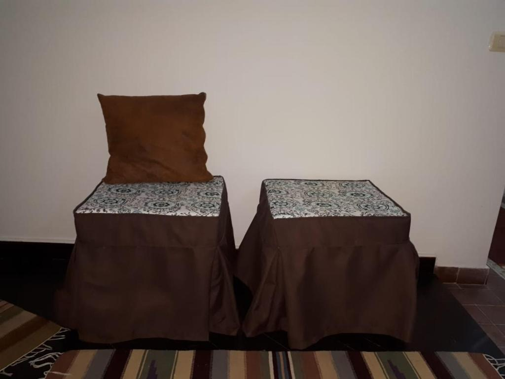 A Bed Or Beds In Room At Al Rehab Apartment Cousy And Brand New Furniture