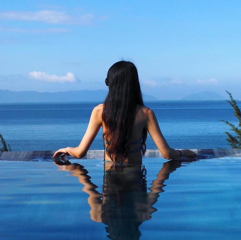 The swimming pool at or near Santori Hotel Da Nang Bay