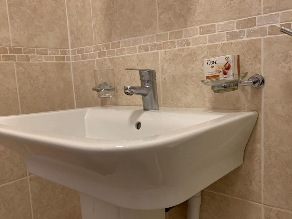 A bathroom at 1 Mint Drive