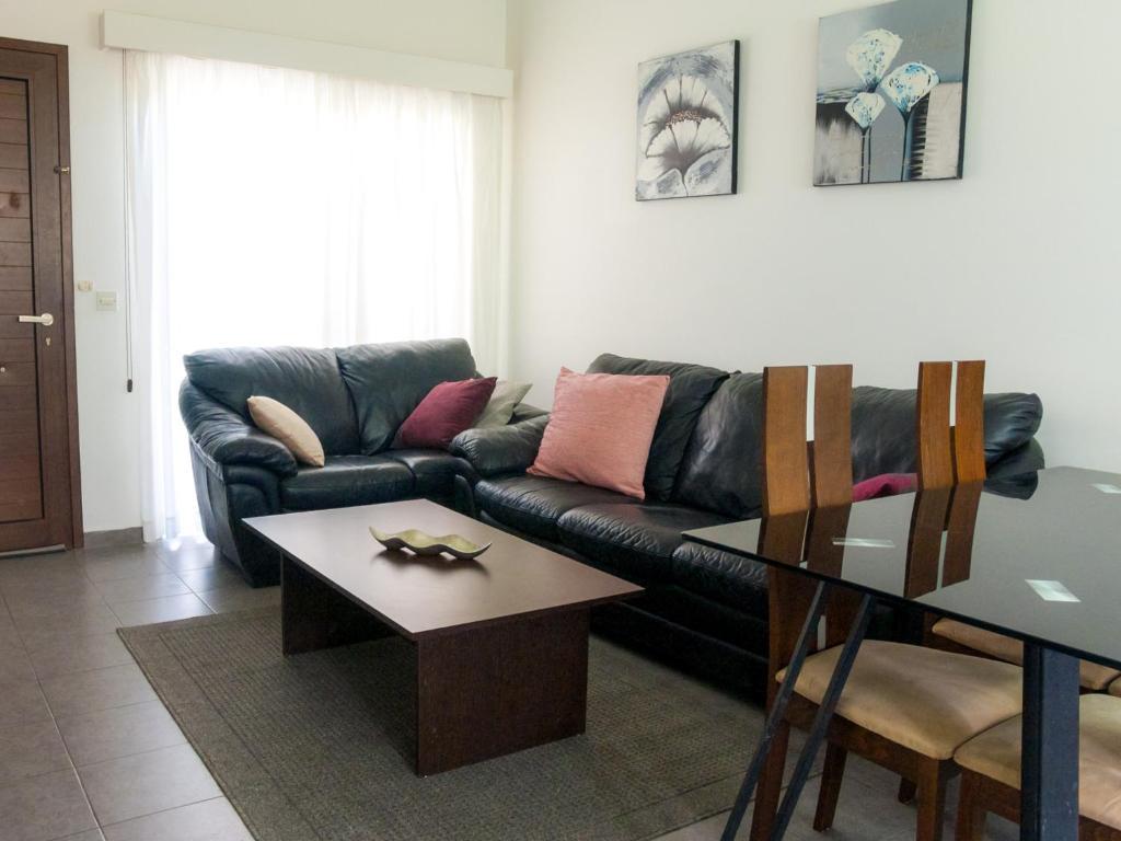Гостиная зона в Cosy Ground Floor Apartment