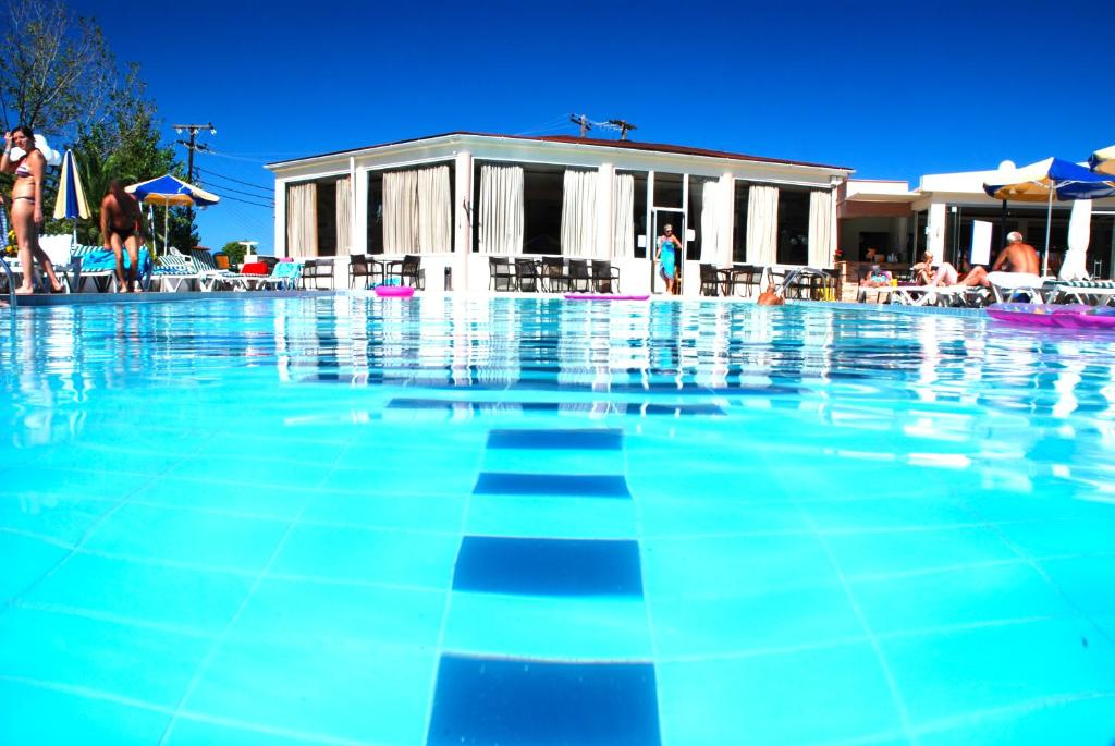 All inclusive hotel and flights to greece