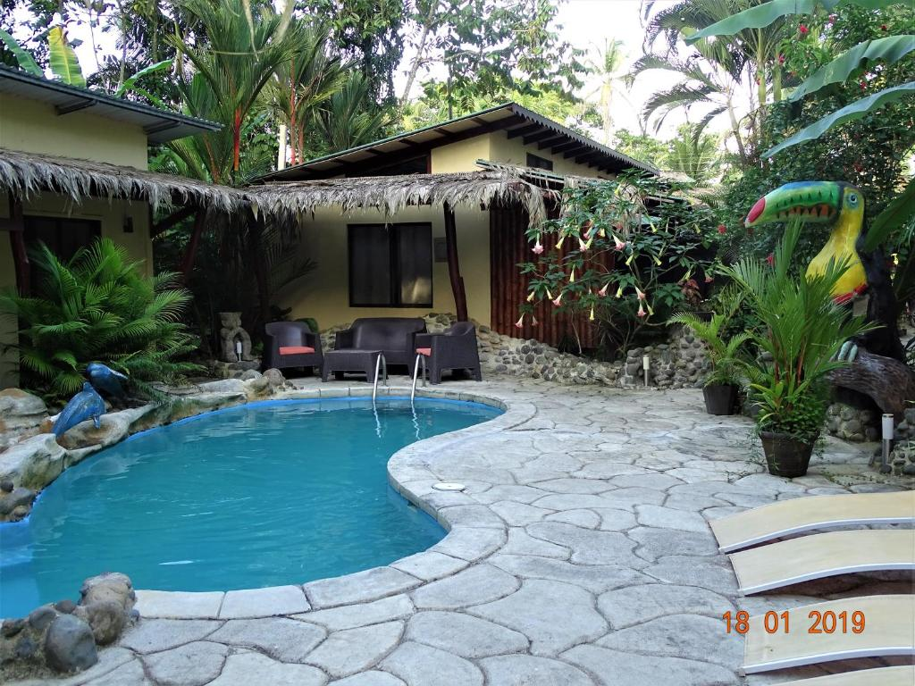 The swimming pool at or close to Hotel Caribbean Coconut