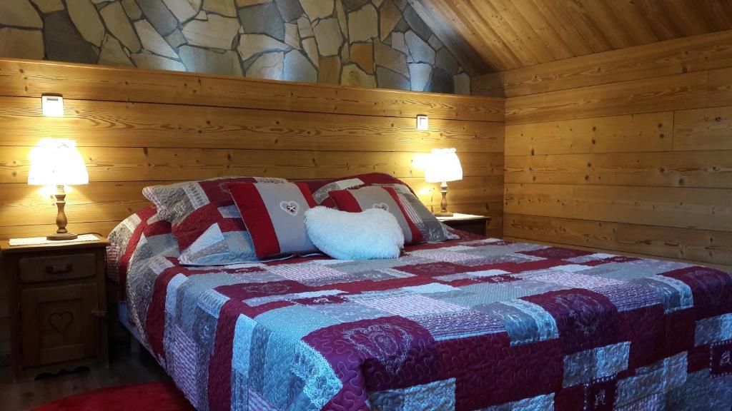 Un ou plusieurs lits dans un hébergement de l'établissement LE PIOU