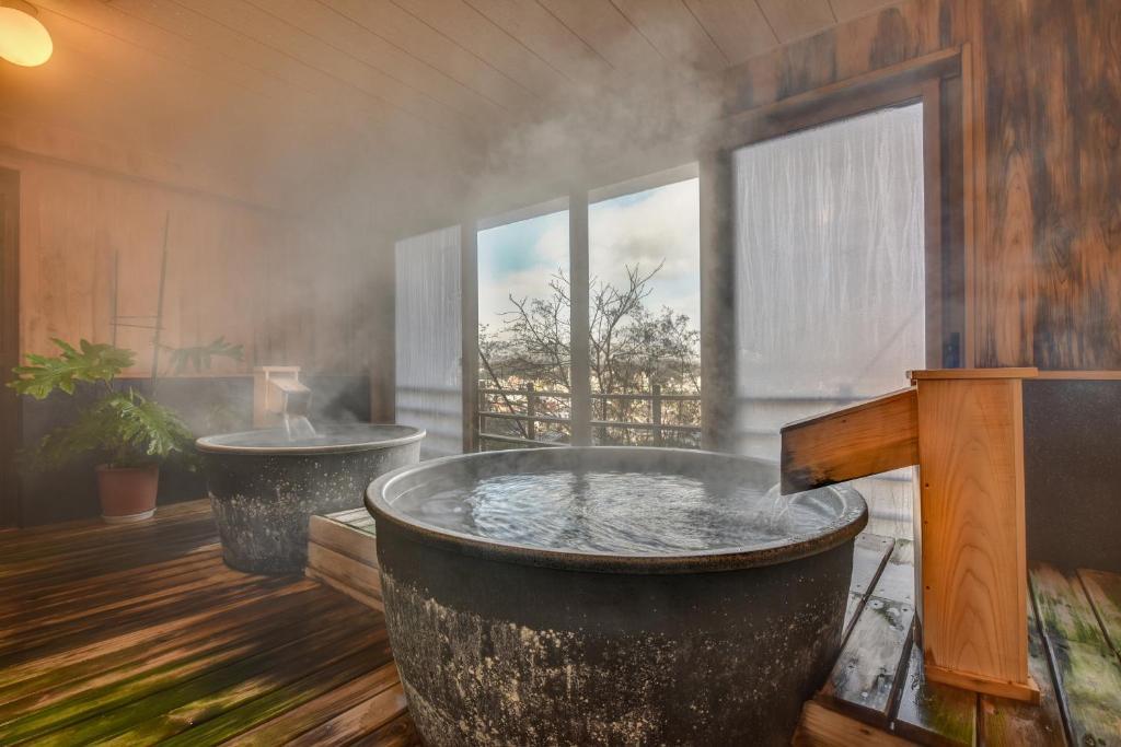 ポイント2.プライベートに楽しむ天然温泉