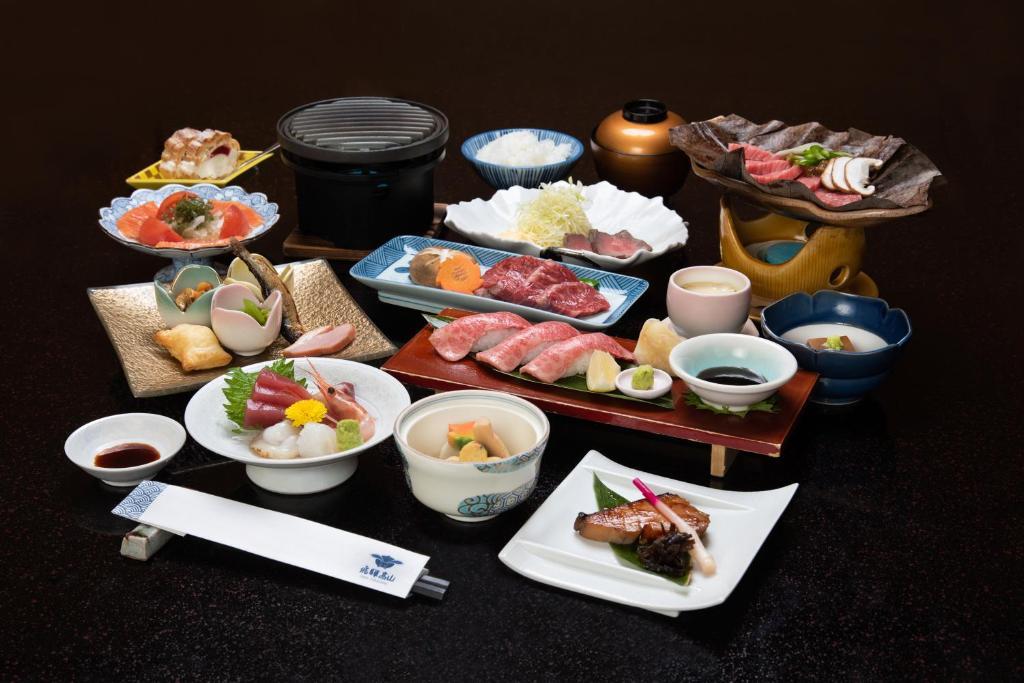 ポイント3.飛騨高山の味を堪能する夕食