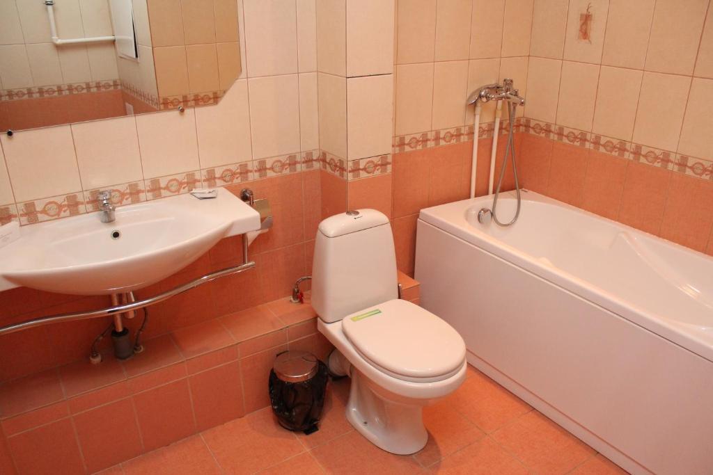 Ванная комната в Гостиница Воронеж
