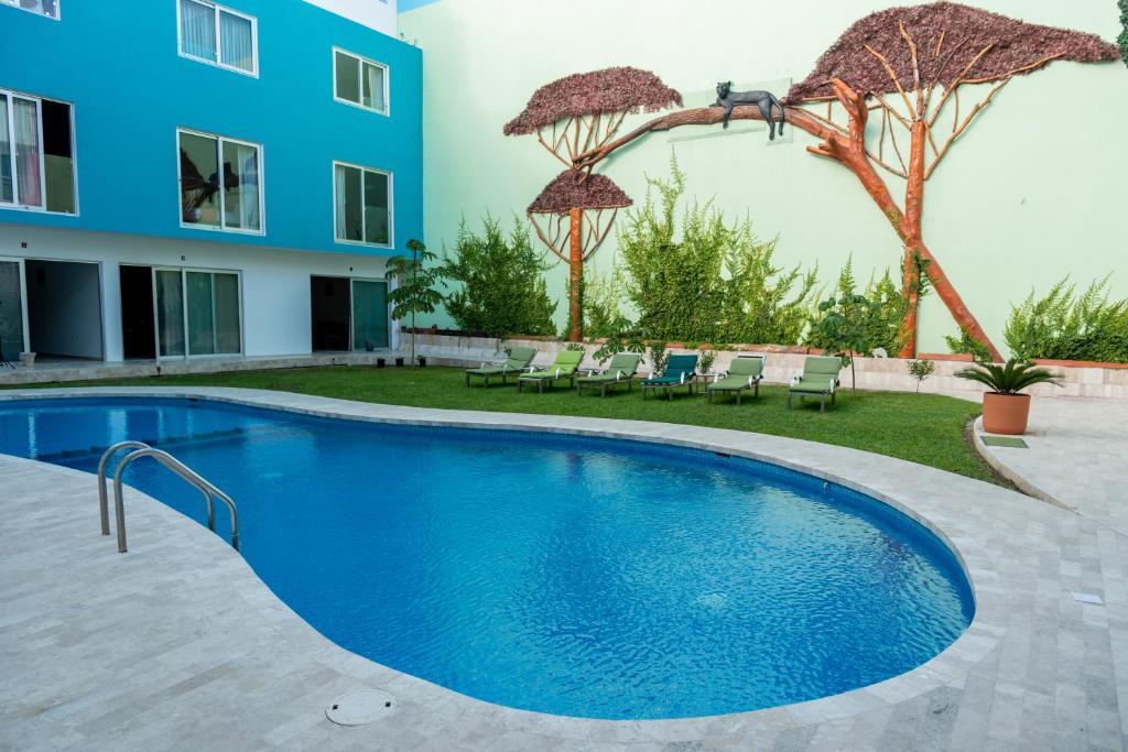 Piscina en o cerca de Hotel Playa Encantada
