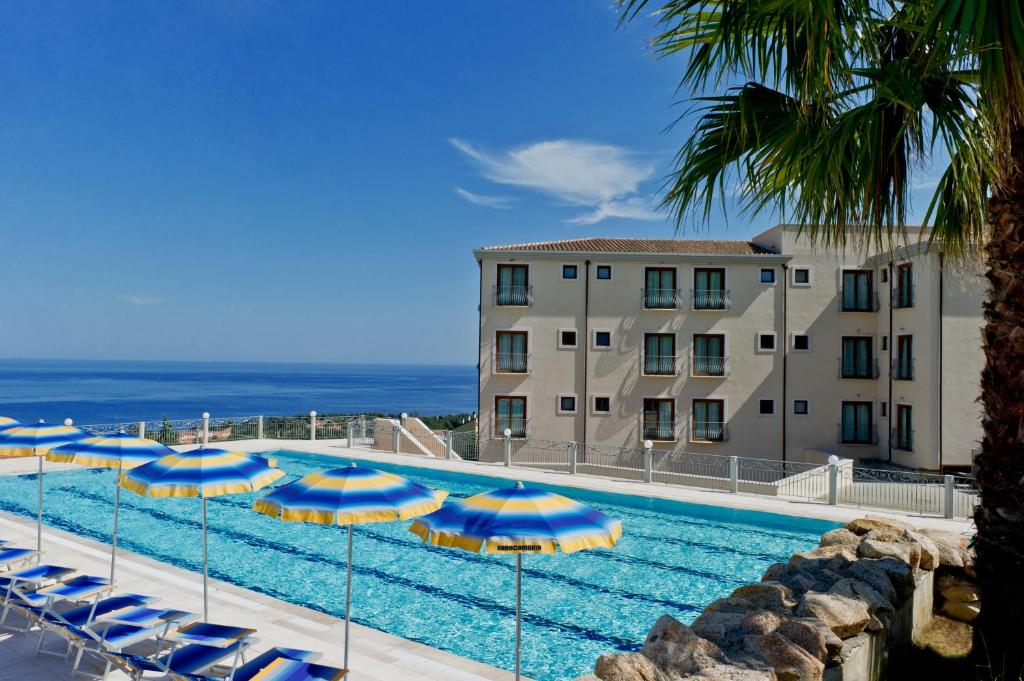 The swimming pool at or near Hotel Brancamaria