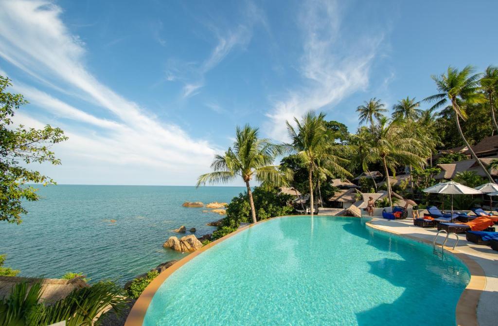 Coral Cliff Beach Resort Samui Thailand Strand Chaweng Noi