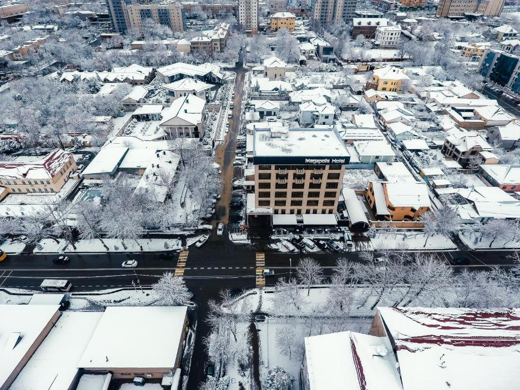 A bird's-eye view of Megapolis Hotel Shymkent