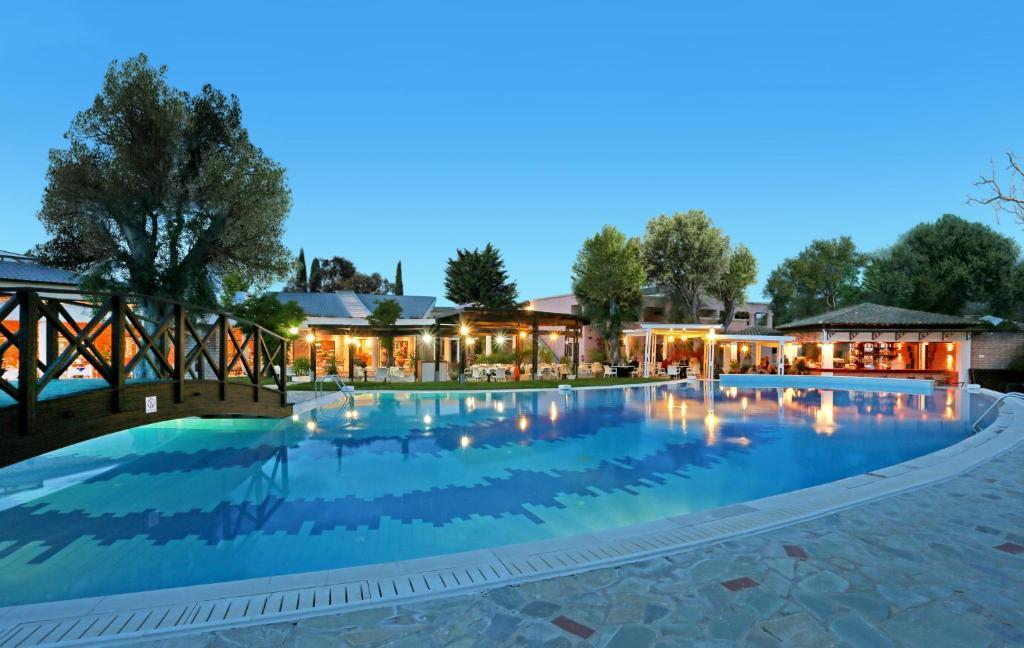 The swimming pool at or near Sentido Apollo Palace