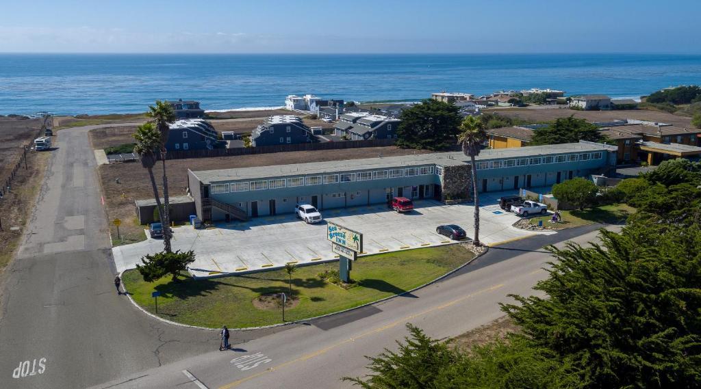 Sea Breeze Inn - San Simeon a vista de pájaro