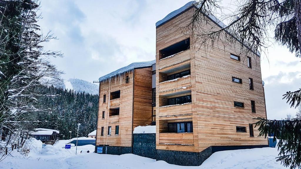 Apartment Mumlava Harrachov during the winter