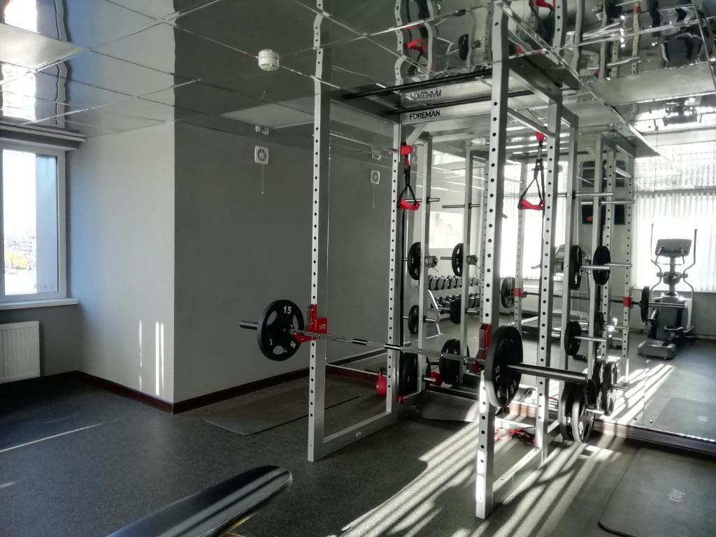 Фитнес-центр и/или тренажеры в А Отель БРНО