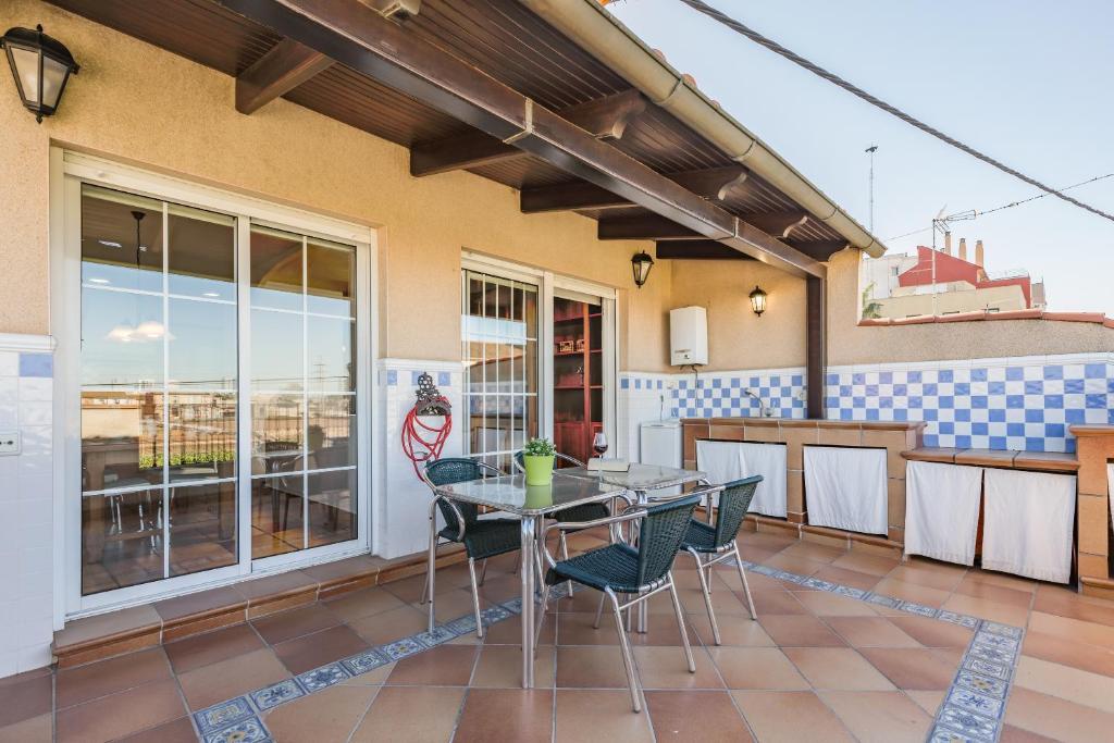 Balcó o terrassa a Travel Habitat Sur Valencia