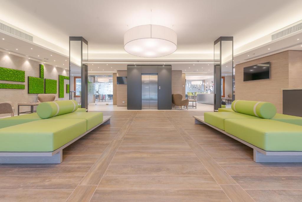 The lobby or reception area at Horizon - Wellness & Spa Resort