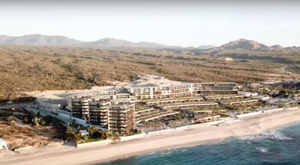 A bird's-eye view of Suites at Solaz Luxury Resort Los Cabos