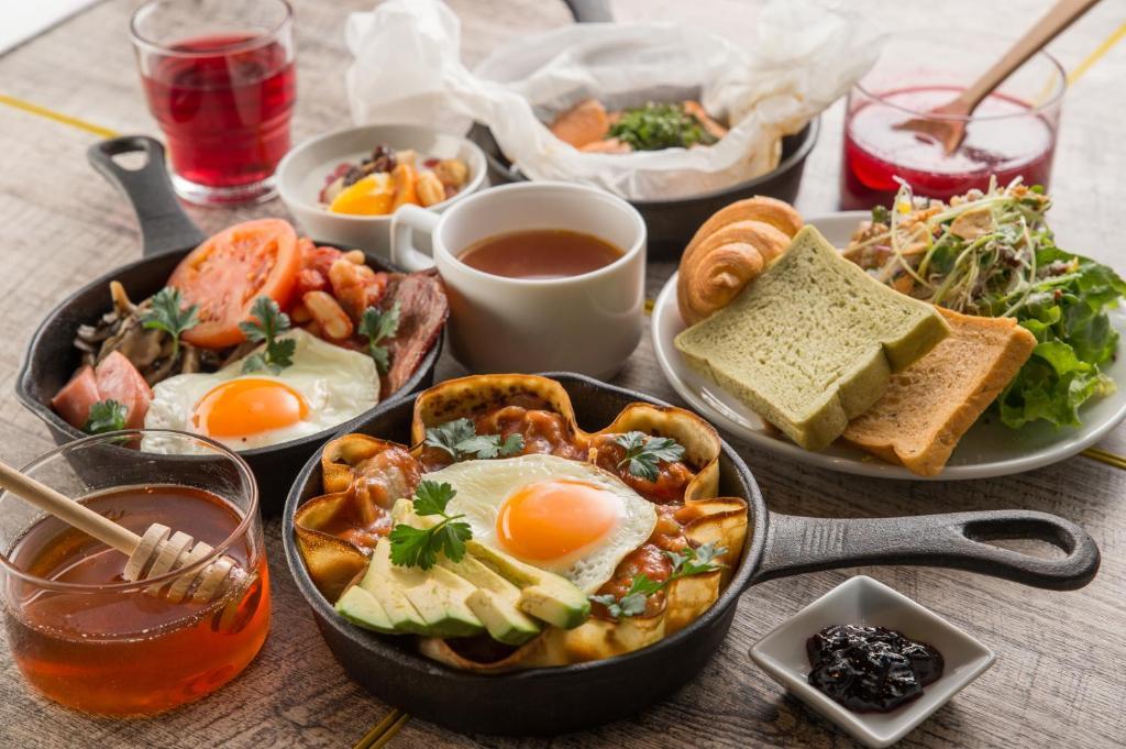 ポイント1.ビュッフェコーナーあり!大満足の朝食