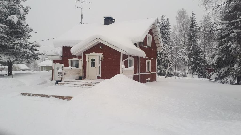 Kotitupaan during the winter