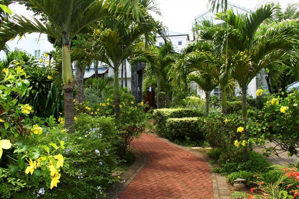 A garden outside CHATEAUBRIAND Luxury villa*****
