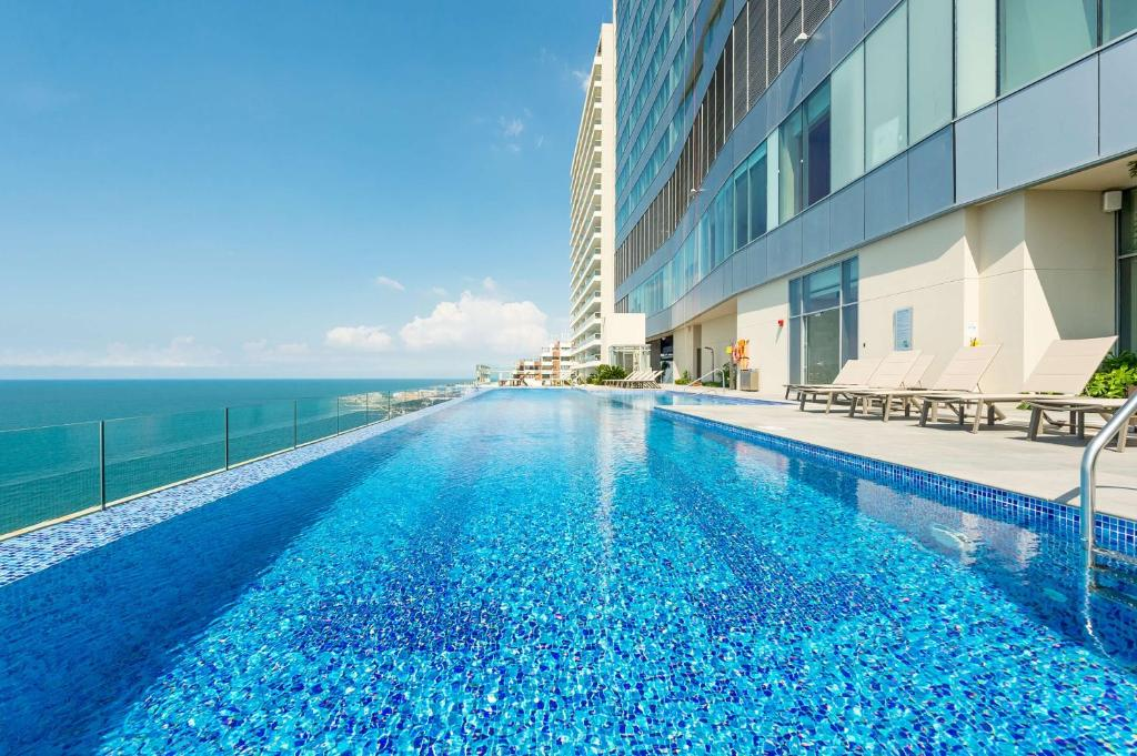 The swimming pool at or near Hyatt Regency Cartagena