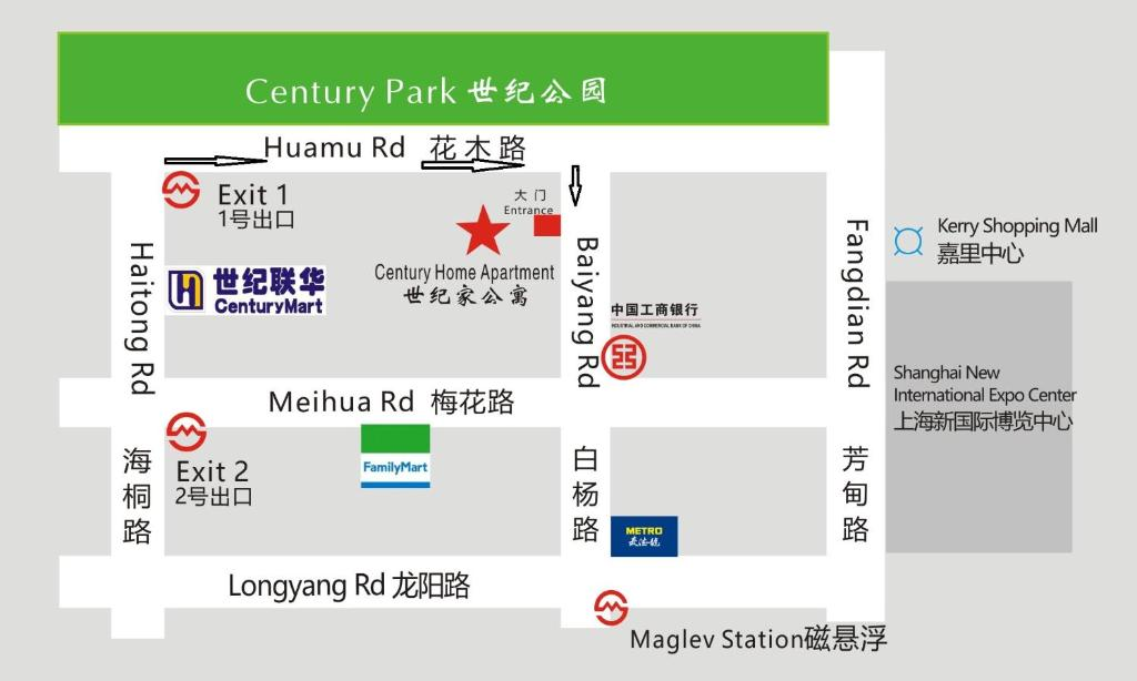 Shanghai Subway Map Vs Acutal.Century Home Service Apartment Shanghai Updated 2019 Prices
