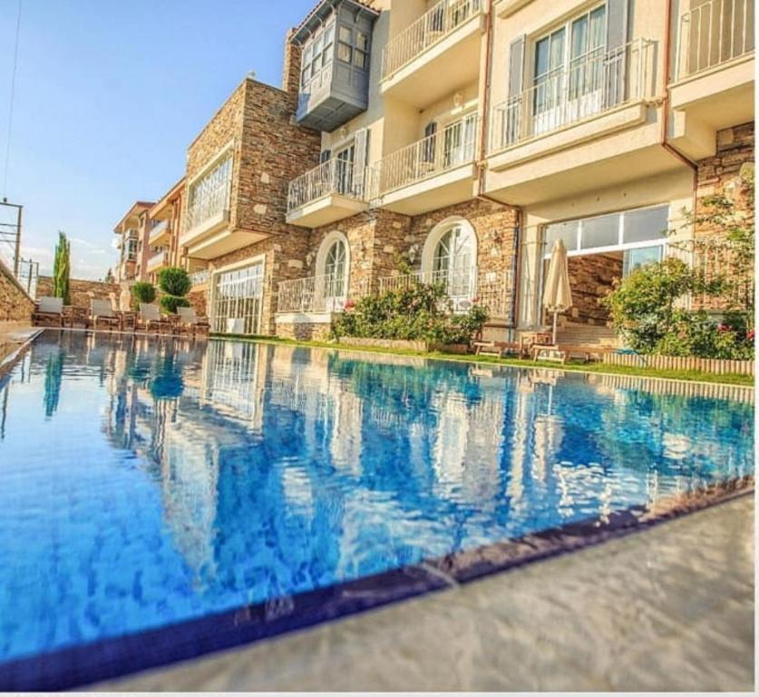 The swimming pool at or near Nea Efessos