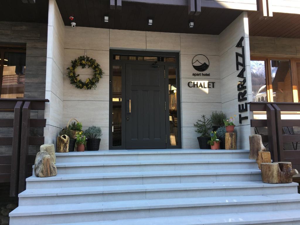 Chalet Terrazza Aparthotel Estosadok Atnaujintos 2019 M