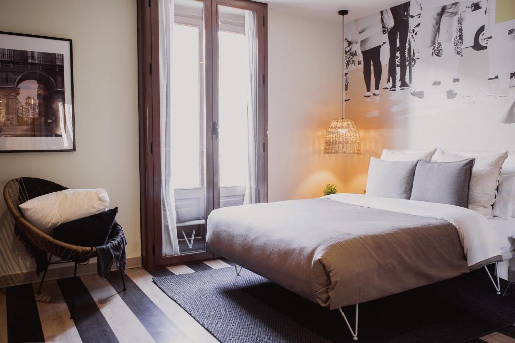 Cama o camas de una habitación en Room007 Select Sol