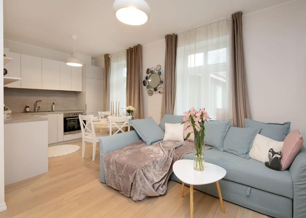 Istumisnurk majutusasutuses Modern quiet 2 bedroom apartment near City center