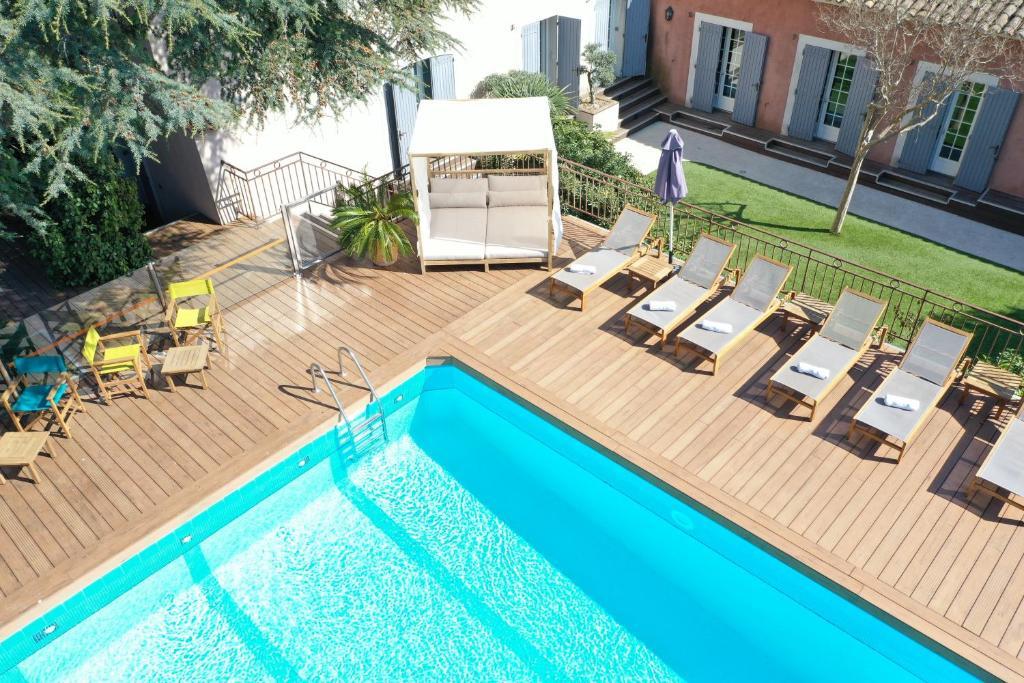 A piscina em ou perto de Les Jardins de Cassis
