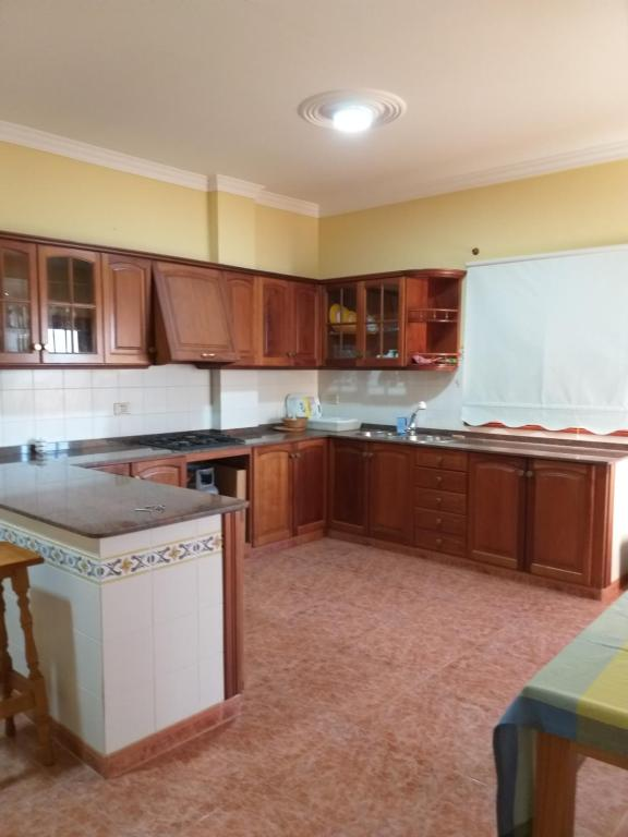 A kitchen or kitchenette at casa rural norte de Gran Canaria