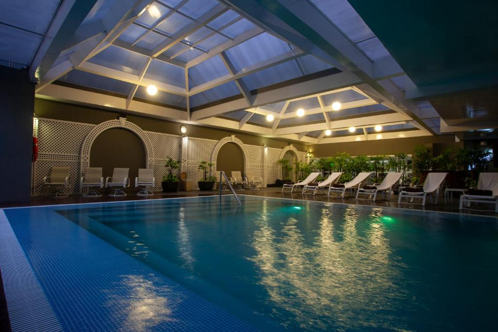 The swimming pool at or near Casa Andina Premium Miraflores