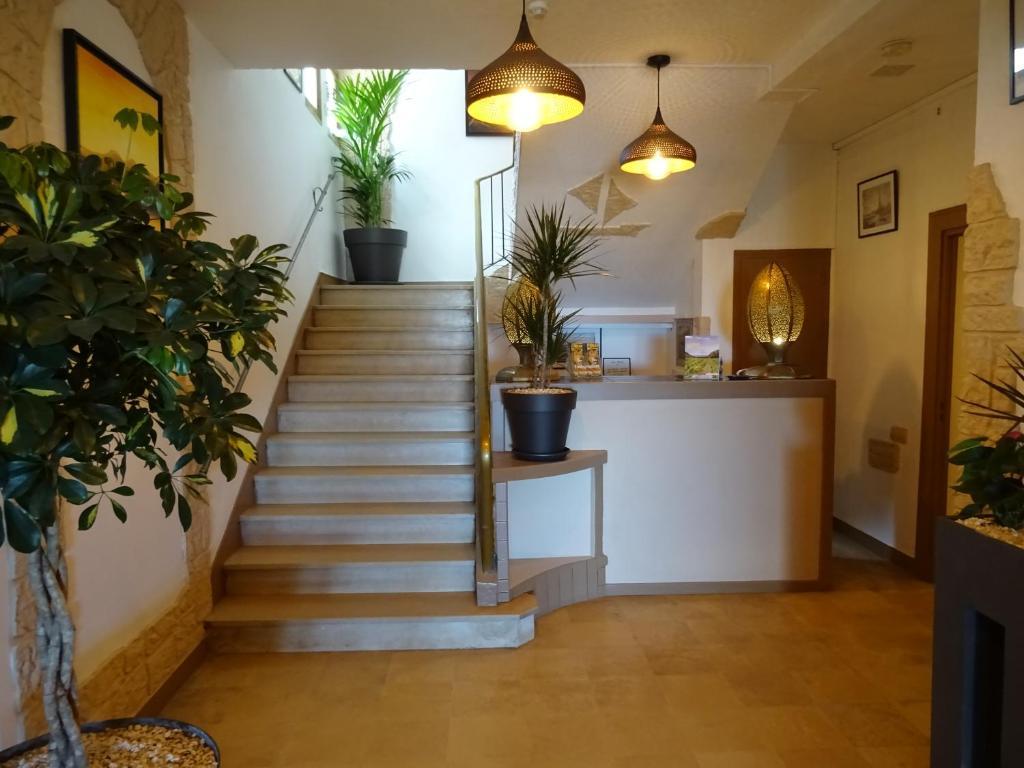 The lobby or reception area at Le Mazagan