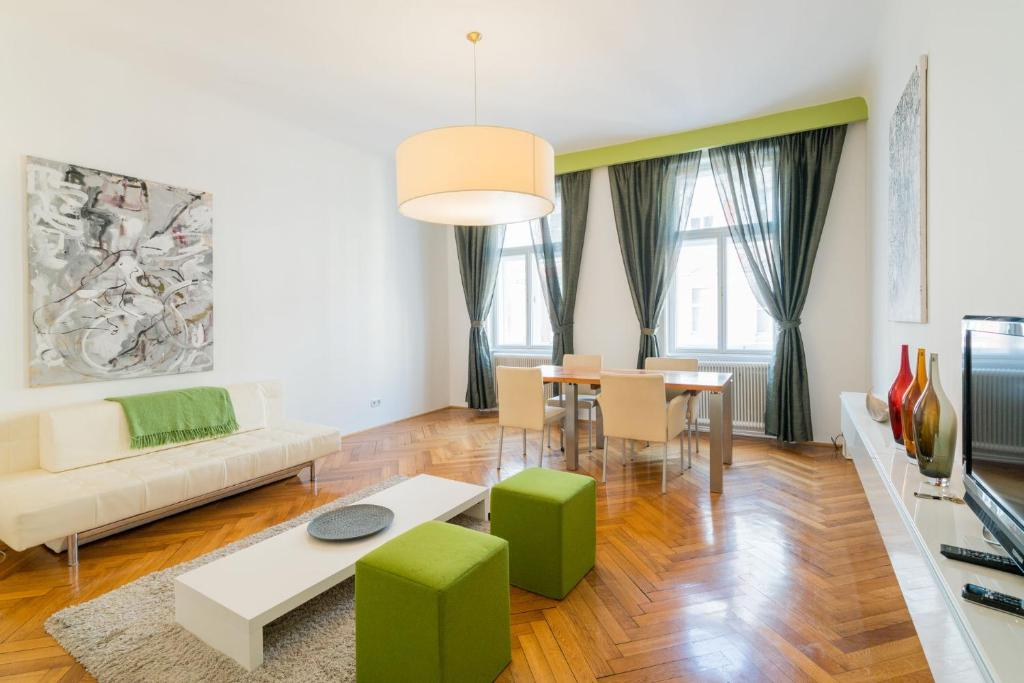 a559a939fb6 Кът за сядане в Vienna Residence | Serviced Apartment in Vienna with  modern, comfortable furniture