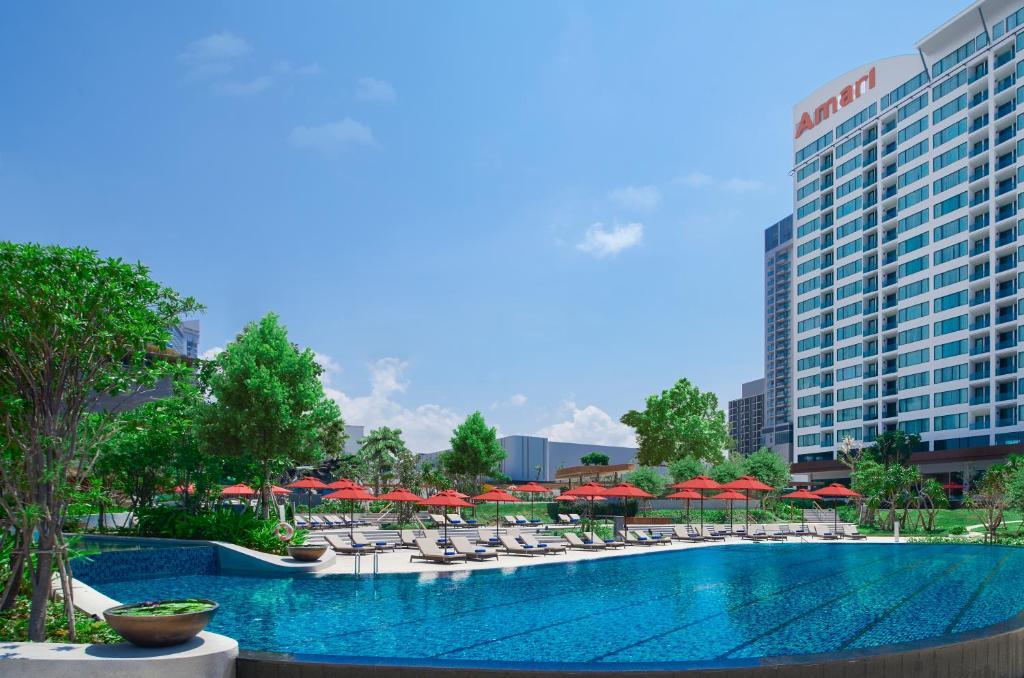The swimming pool at or close to Amari Pattaya
