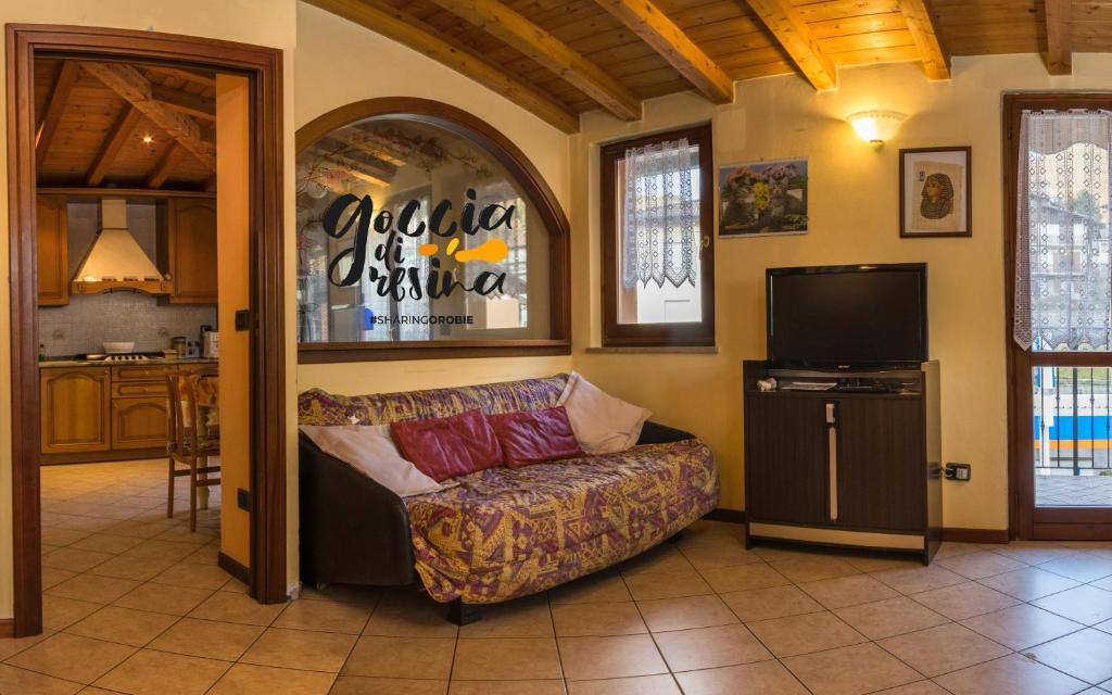Letti A Castello Stile Country.Vacation Home Goccia Di Resina Sharingorobie Serina Italy