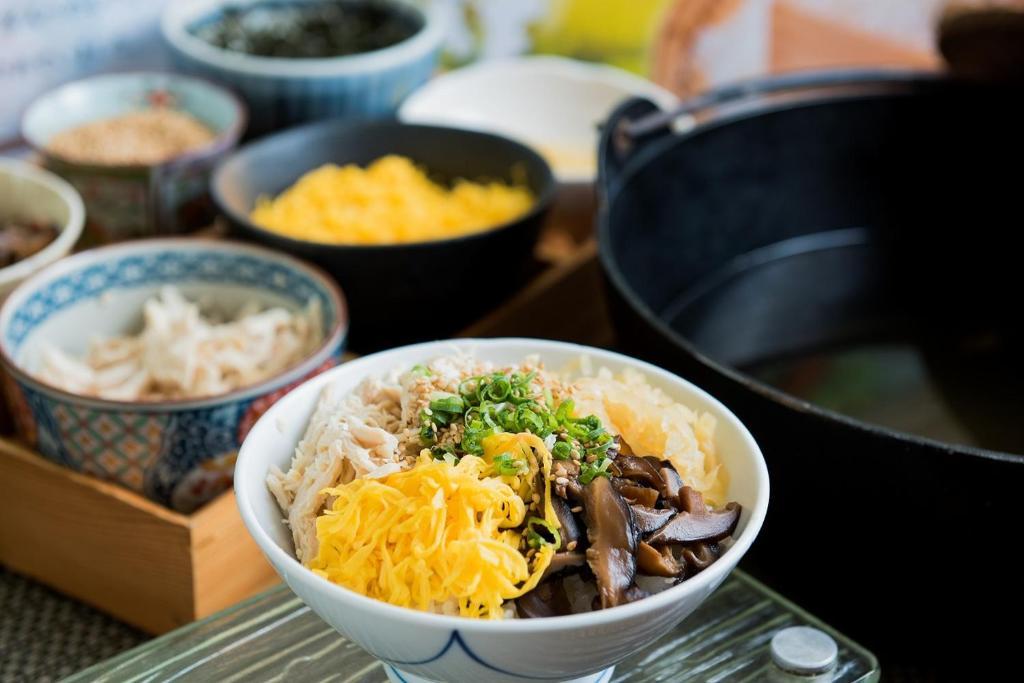 ポイント3.品数豊富な郷土料理朝ごはん