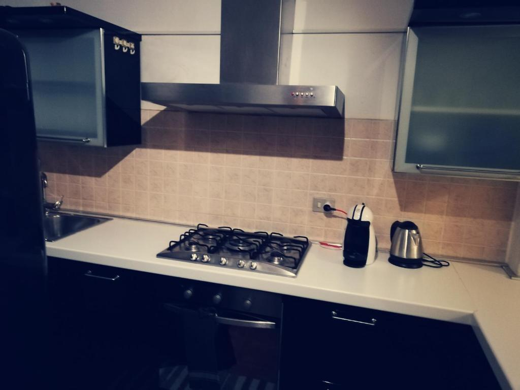 A kitchen or kitchenette at Residence Vigliani