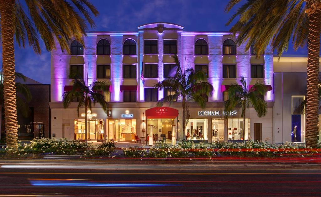 Luxe Hotel Rodeo Drive Beverly Hills Los Angeles