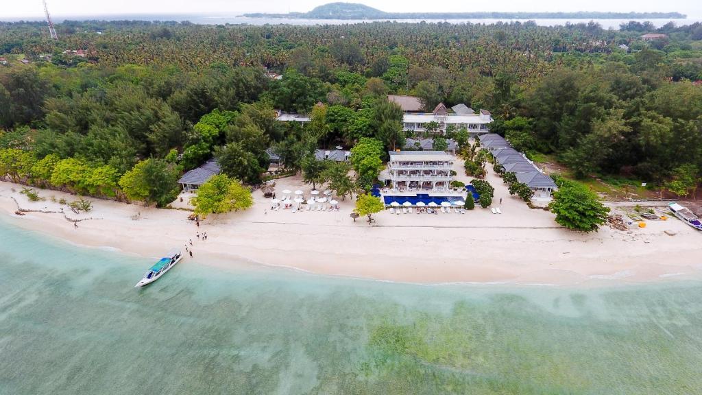 Seri Resort Gili Meno a vista de pájaro