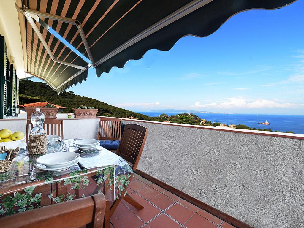 A balcony or terrace at Locazione turistica Salita Bellavista