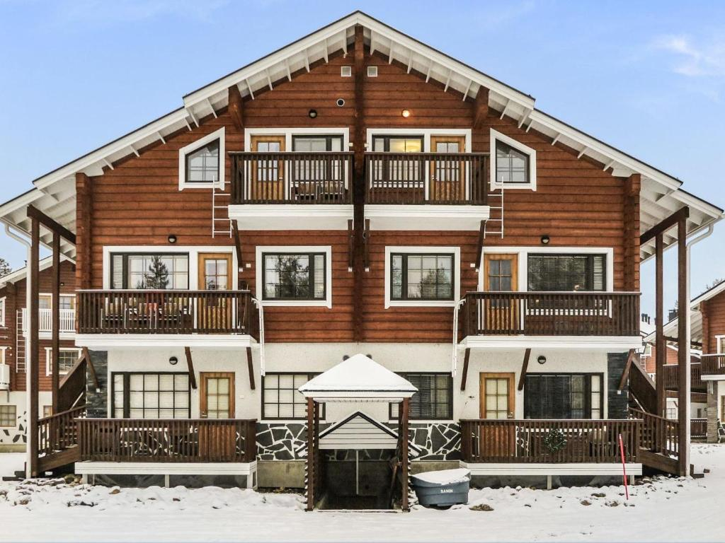 Holiday Home Alte levi calevi during the winter