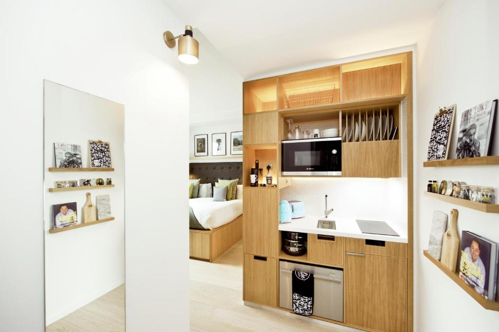Cuina o zona de cuina de Wilde Aparthotels by Staycity Covent Garden