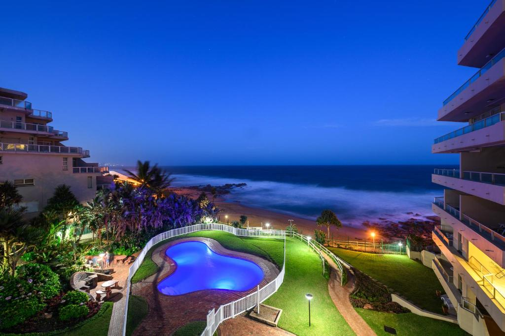 A view of the pool at Ballito Luxury beach front Apartment or nearby