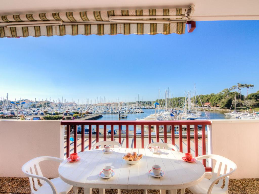 A balcony or terrace at Apartment Le Grand Pavois